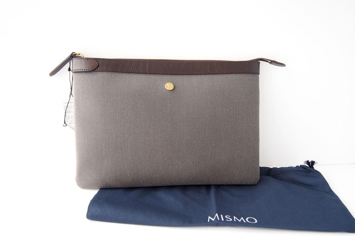 ミスモ|MISMO|クラッチバッグ|グレイイメージ03