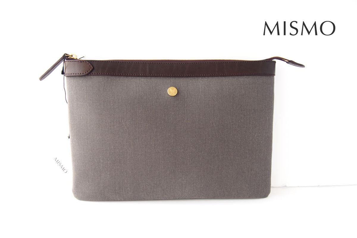 ミスモ|MISMO|クラッチバッグ|グレイイメージ01