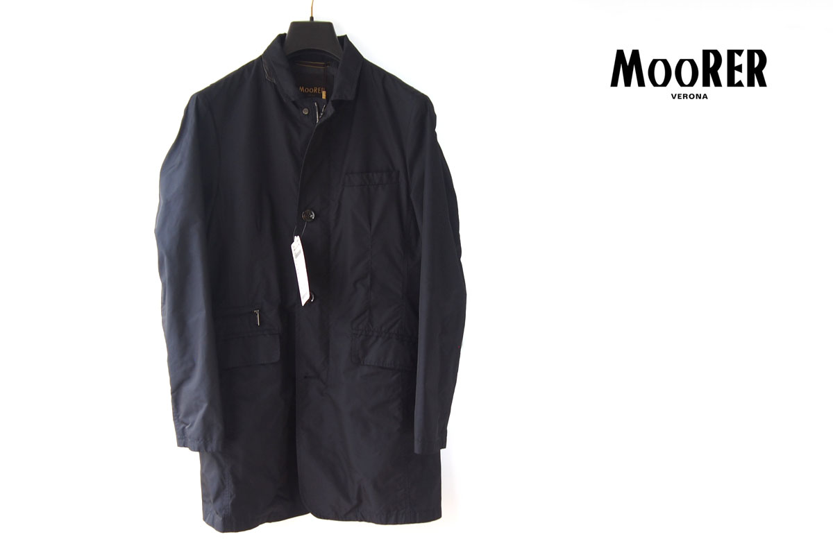 ムーレー|MooRER|スプリングコート|ネイビー|44|258-51112-762イメージ01