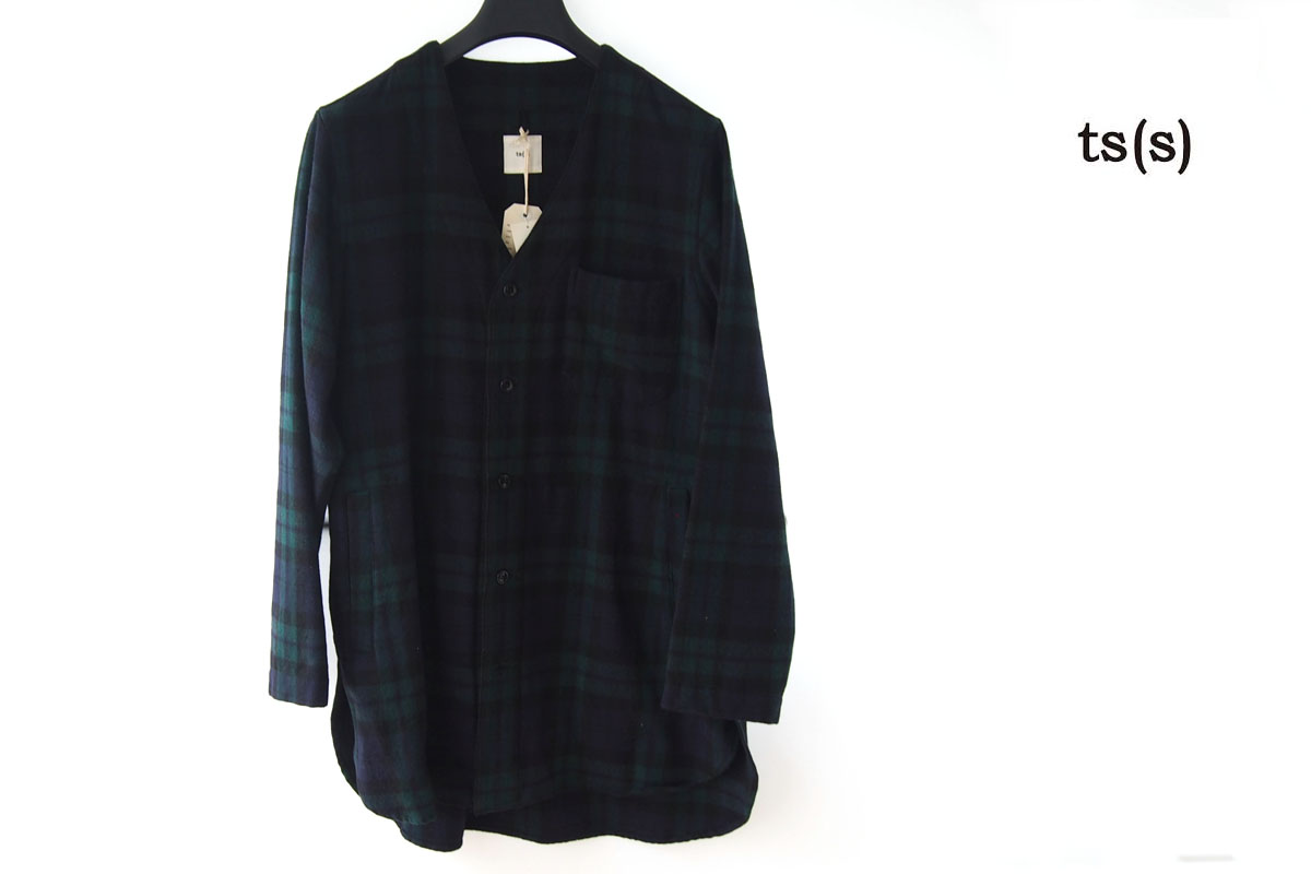 ティーエスエス|ts(s)|イセタンメンズ別注ブラックウォッチ柄ウールジャケット|2イメージ01