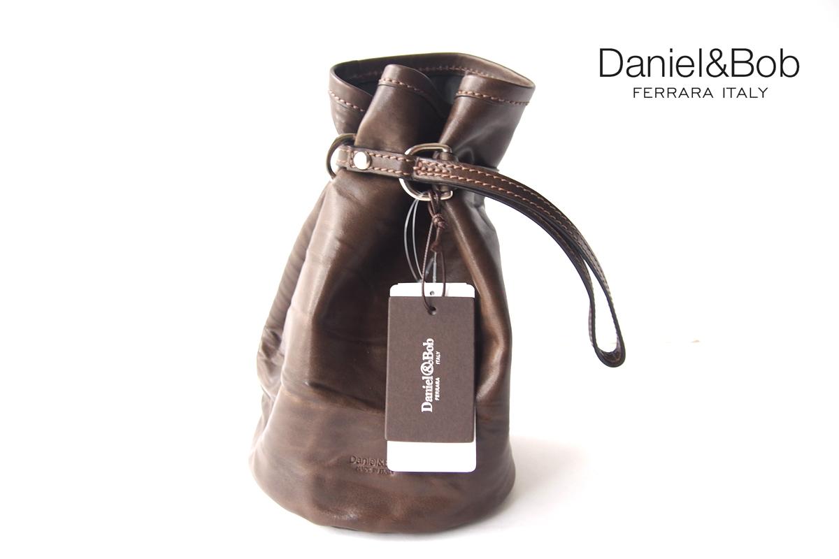 ダニエル&ボブ|Daniel & Bob|P.SACCA RODI|ピーサッカ ローディー|巾着バッグ|カーキブラウンイメージ01