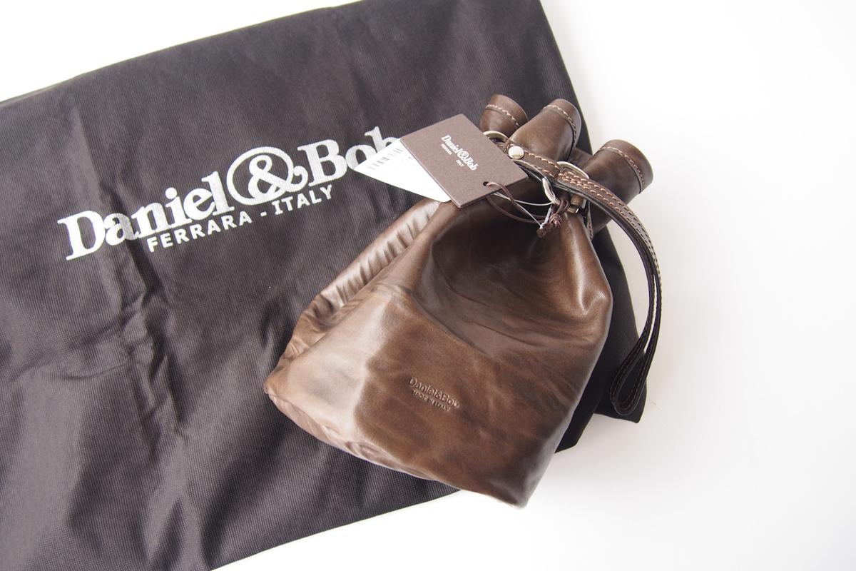 ダニエル&ボブ|Daniel & Bob|P.SACCA RODI|ピーサッカ ローディー|巾着バッグ|カーキブラウンイメージ07