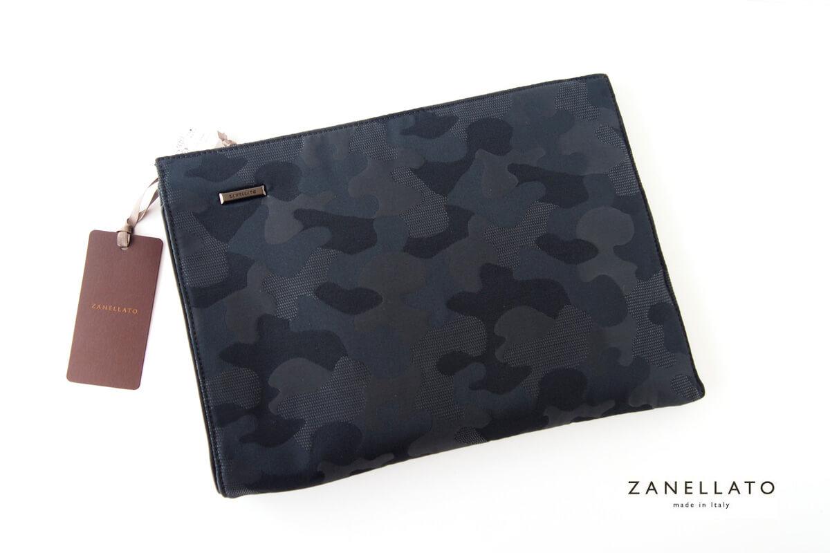 ザネラート|ZANELLATO|カモフラージュ柄クラッチバッグイメージ01