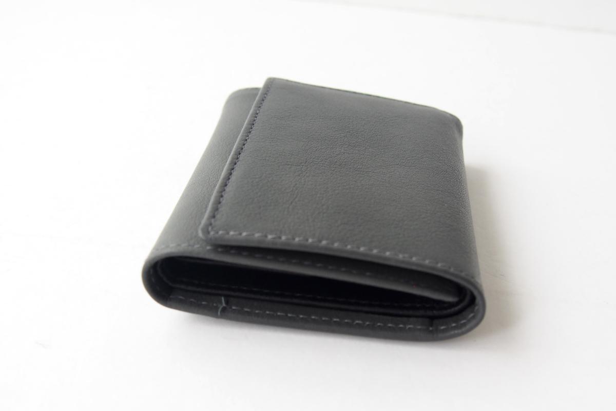 エッティンガー|ETTINGER|三つ折り財布|グレイ×ブラックイメージ03