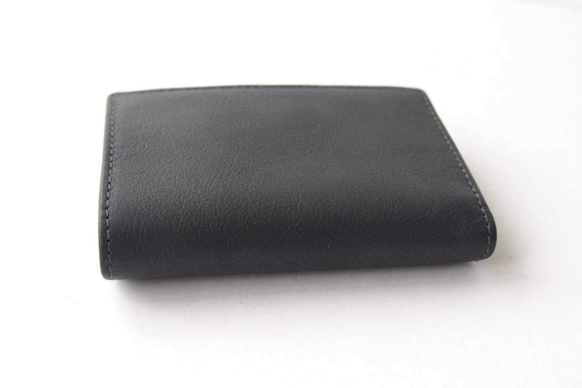 エッティンガー|ETTINGER|三つ折り財布|グレイ×ブラックイメージ04