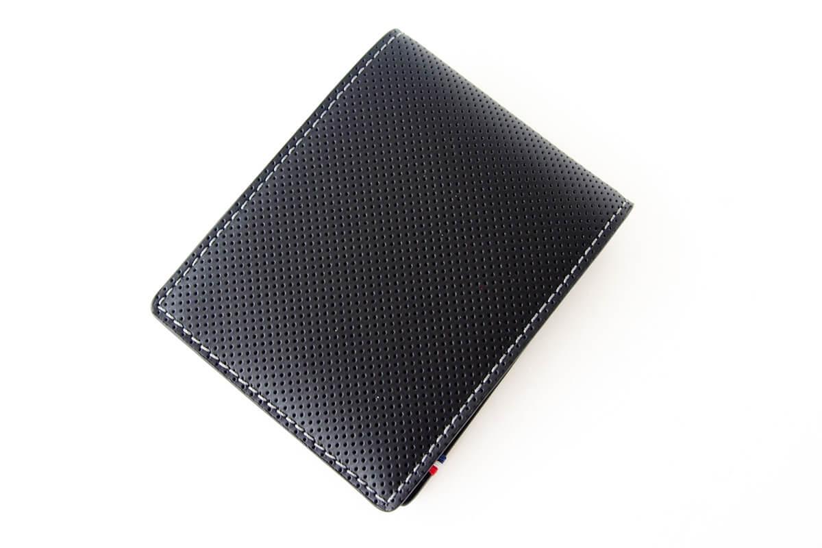 エス・テー・デュポン|S.T. Dupont|デフィ パンチングレザー二つ折り財布イメージ05
