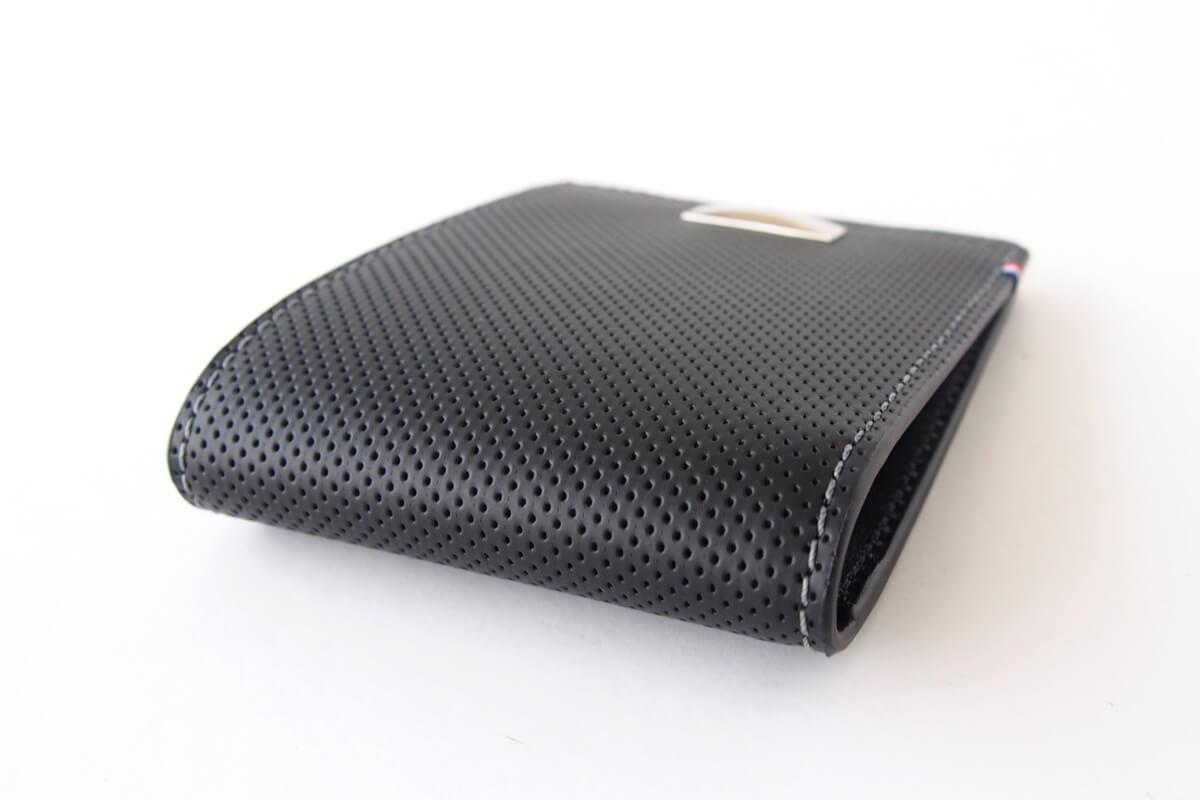 エス・テー・デュポン|S.T. Dupont|デフィ パンチングレザー二つ折り財布イメージ06
