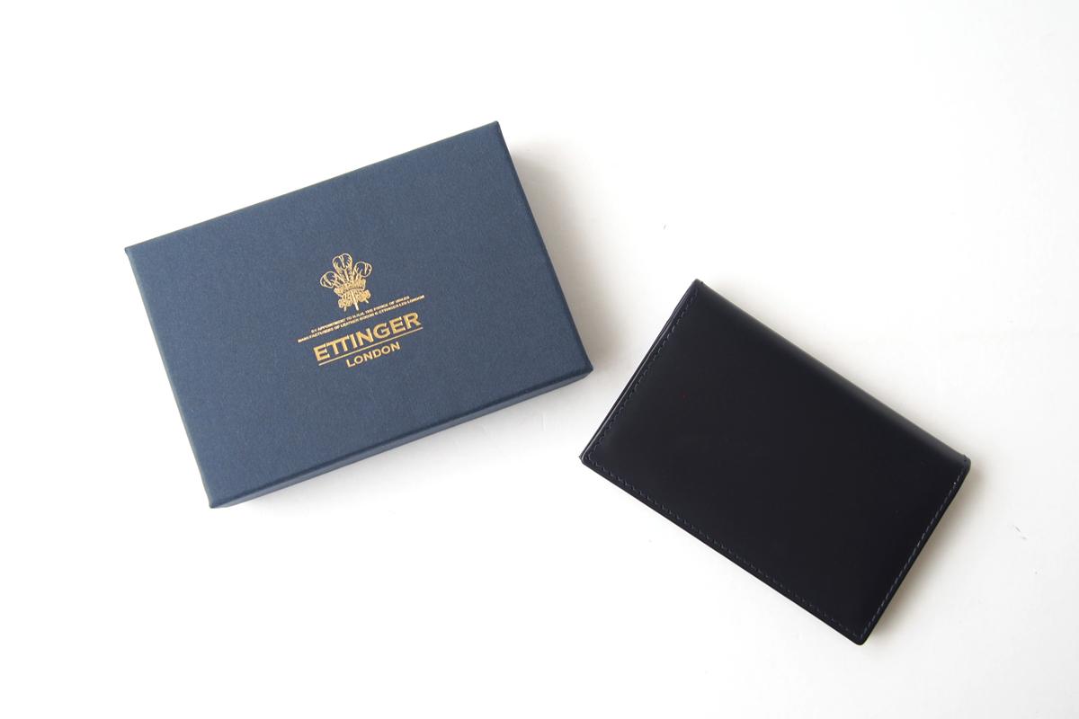 エッティンガー|ETTINGER|名刺入れ|カードケース|BH143C|ブライドルレザー|ネイビーイメージ02