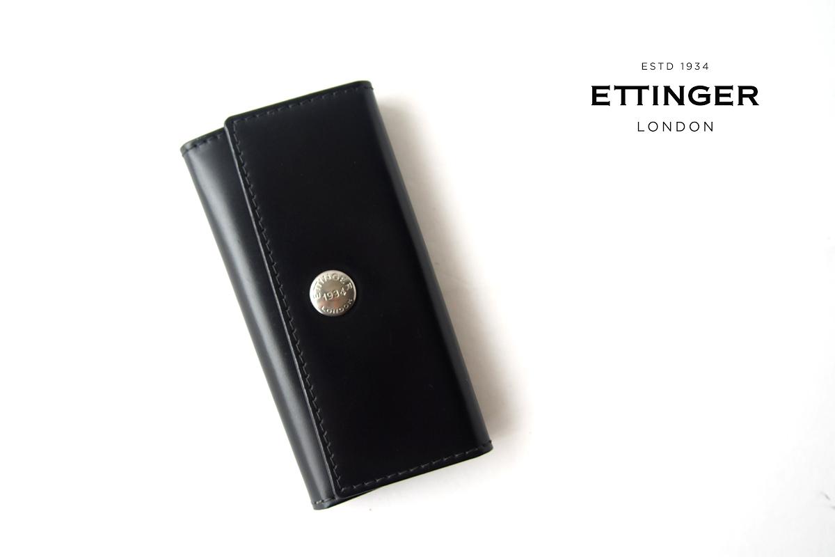 エッティンガー ETTINGER 4フックキーケース ブラックイメージ01