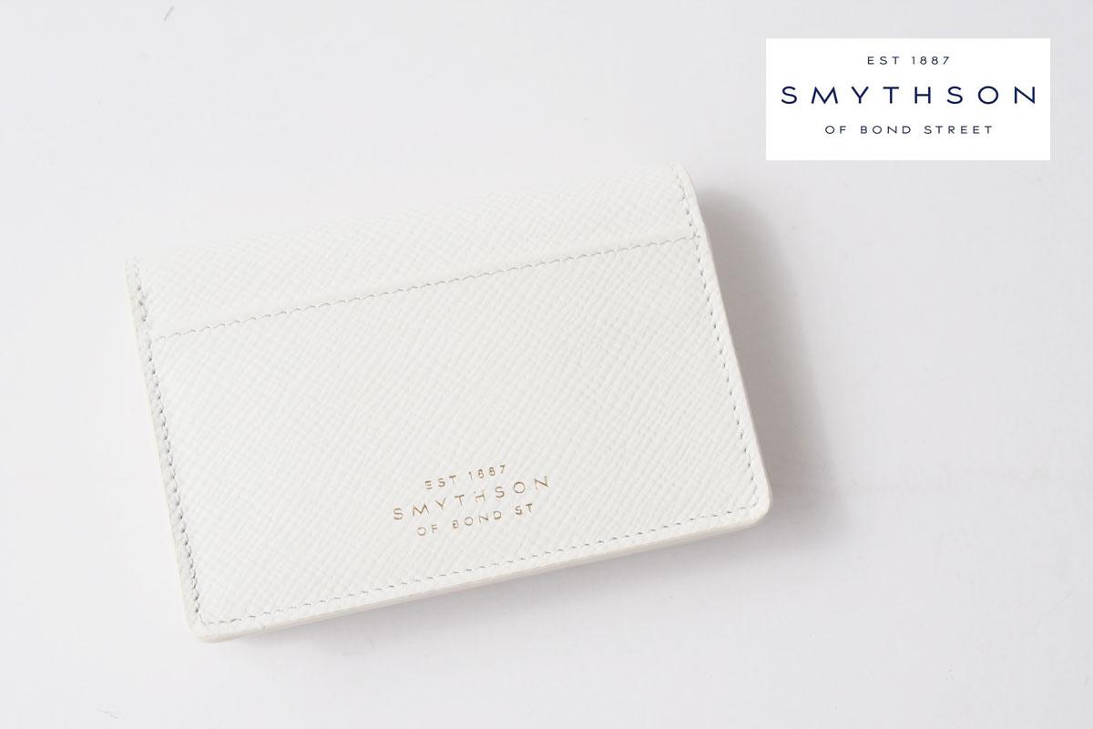 スマイソン|SMYTHSON|パナマ カードケース|PANAMA|ホワイトイメージ01