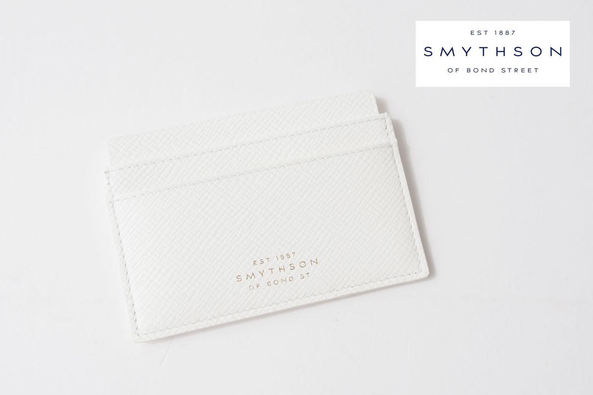 スマイソン|SMYTHSON|パナマ カードホルダー|PANAMA|ホワイトイメージ01