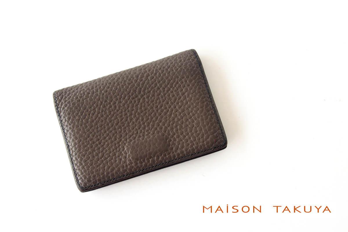 【中古】メゾンタクヤ MAISON TAKUYA 名刺入れ カードケースイメージ01