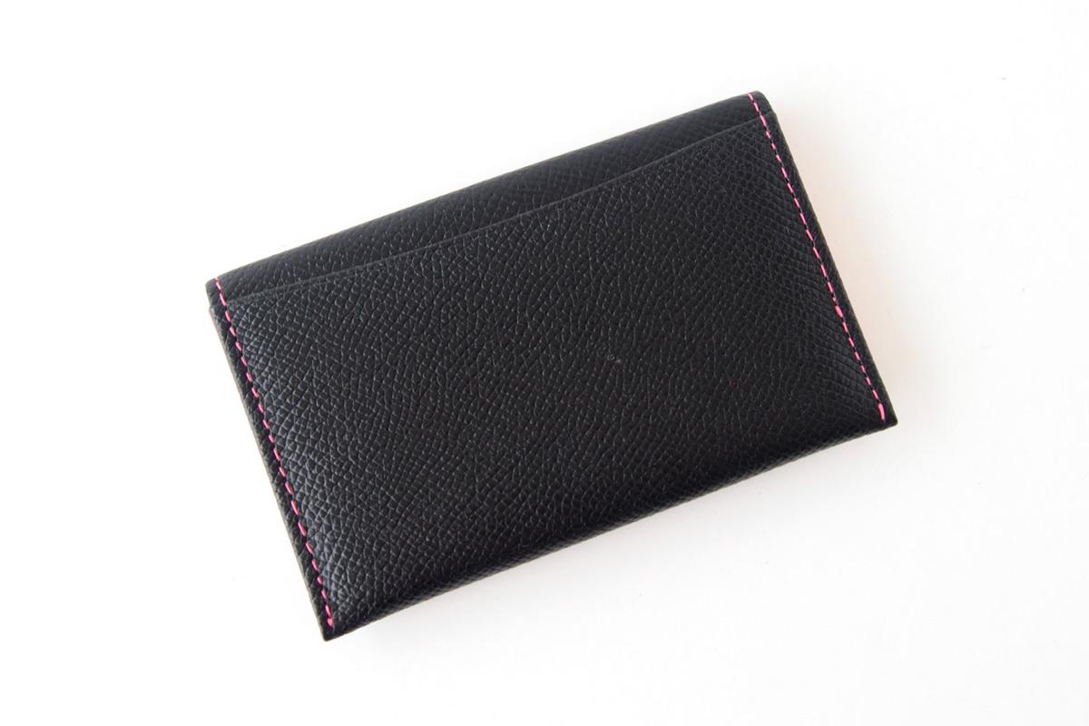 【中古】大峽製鞄|obaseiho|カードケース|ツートンカラー|封筒型イメージ02