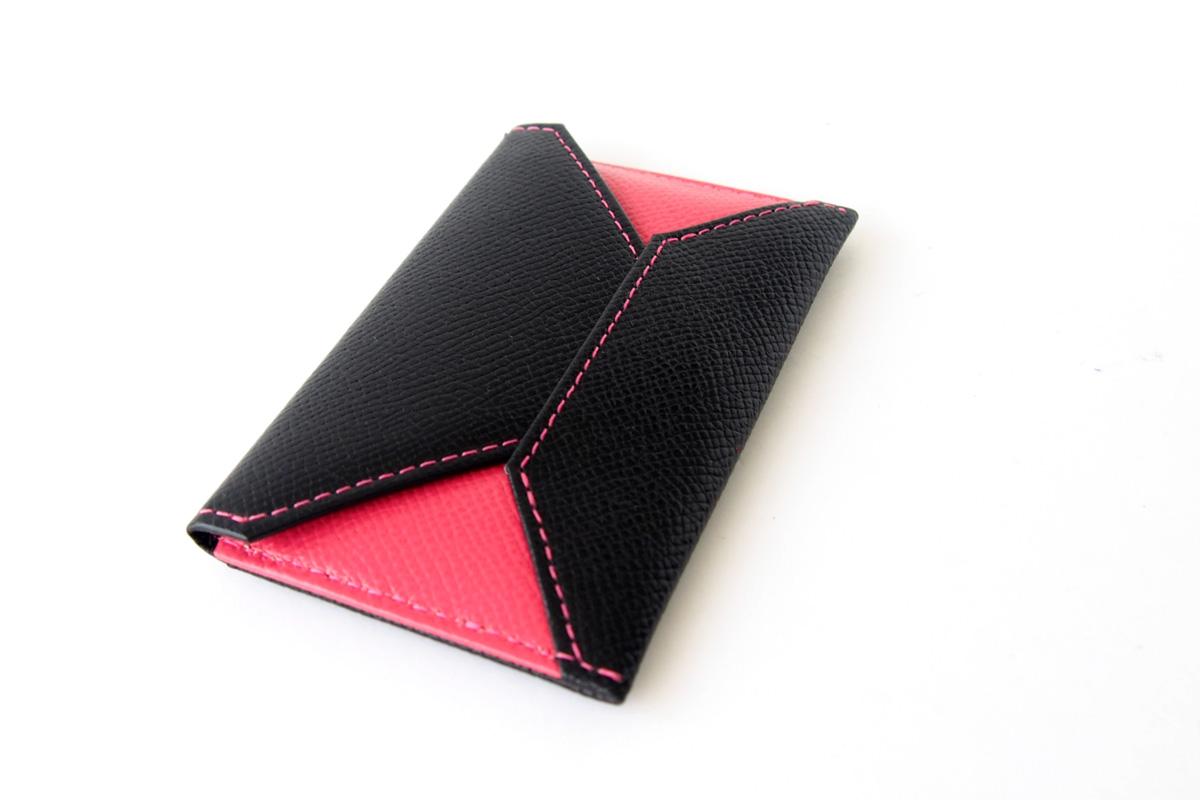 【中古】大峽製鞄|obaseiho|カードケース|ツートンカラー|封筒型イメージ03