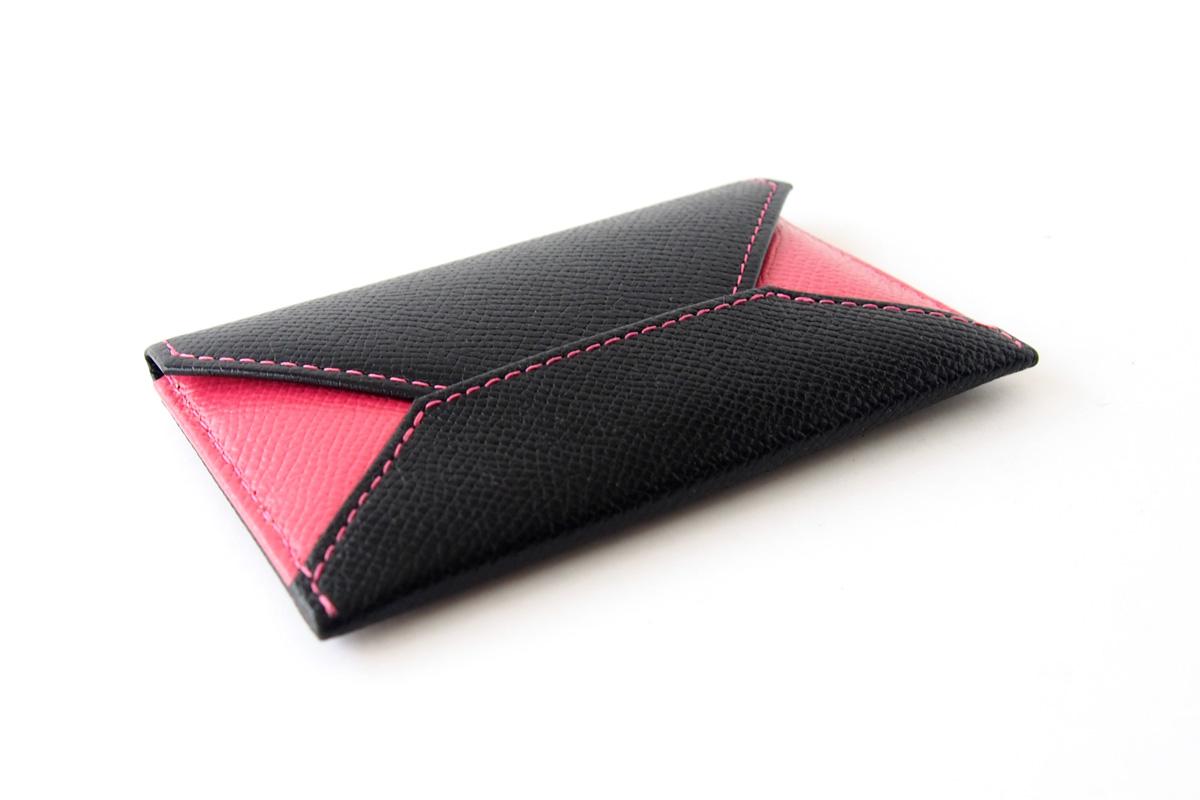 【中古】大峽製鞄|obaseiho|カードケース|ツートンカラー|封筒型イメージ04