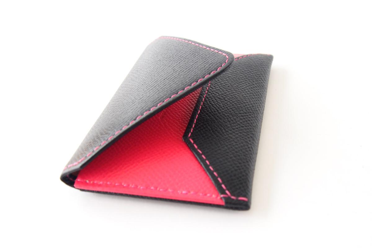 【中古】大峽製鞄|obaseiho|カードケース|ツートンカラー|封筒型イメージ08