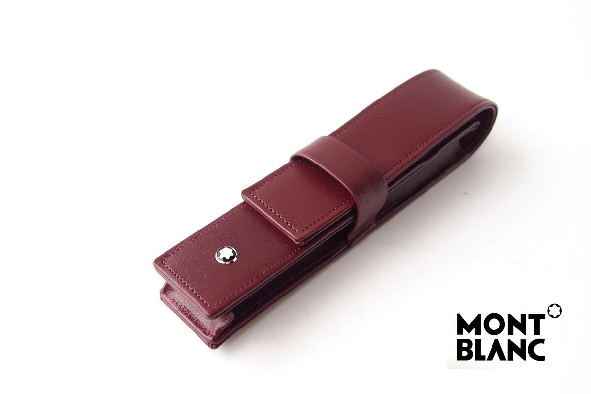 モンブラン|MONTBLANC|マイスターシュテュック クラスプ付きペンポーチ1本用|ボルドーイメージ01