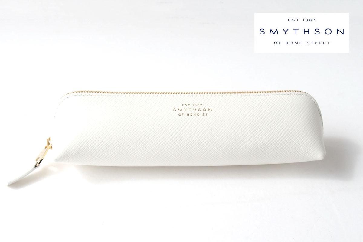 スマイソン|SMYTHSON|パナマ ペンケース|PANAMA|ホワイトイメージ01