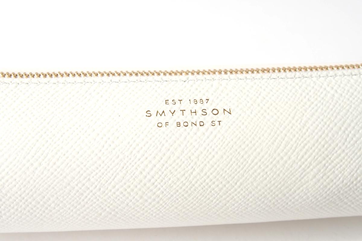 スマイソン|SMYTHSON|パナマ ペンケース|PANAMA|ホワイトイメージ02