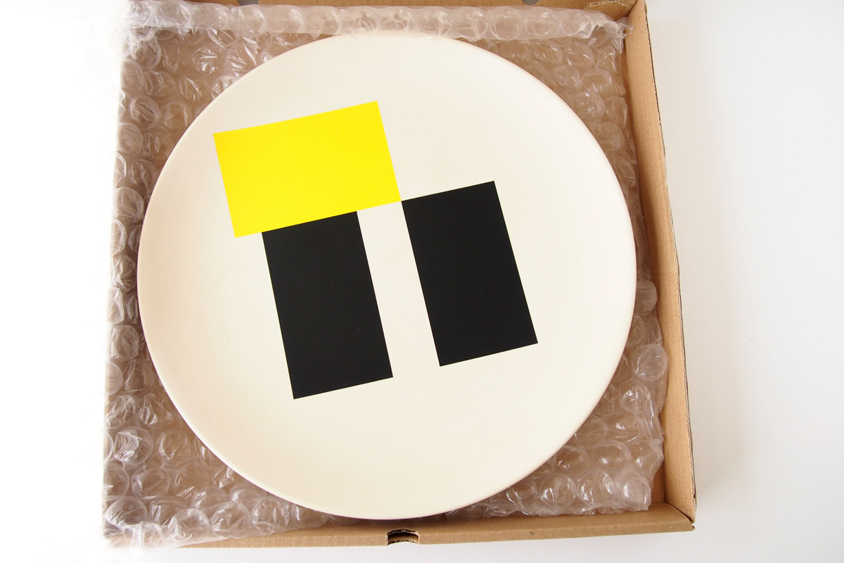 ダークルーム ロンドン DARKROOM LONDON オーナメントプレート 飾り皿 デザイン アート SO SOTTSASS PLATE#2イメージ04