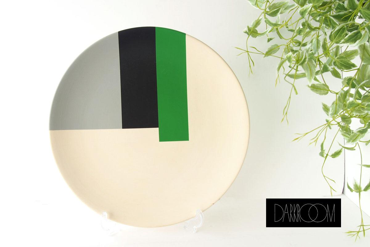 ダークルーム ロンドン|DARKROOM LONDON|オーナメントプレート|飾り皿|デザイン|アート|STOLEN FROM DE STIJL|PLATE#4イメージ01