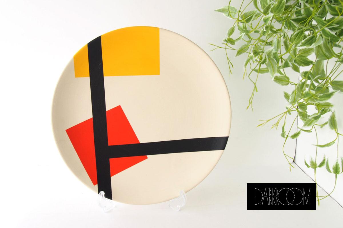 ダークルーム ロンドン|DARKROOM LONDON|オーナメントプレート|飾り皿|デザイン|アート|STOLEN FROM DE STIJL|PLATE#8イメージ01