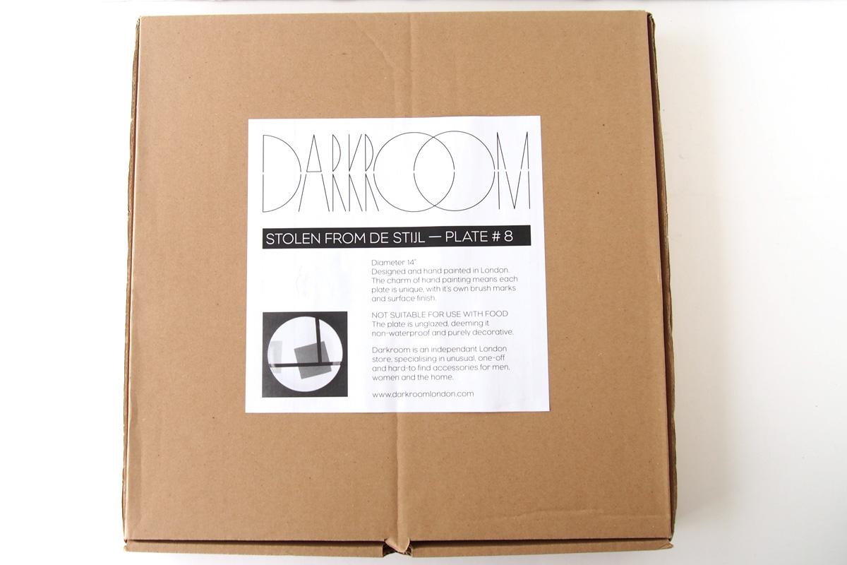 ダークルーム ロンドン|DARKROOM LONDON|オーナメントプレート|飾り皿|デザイン|アート|STOLEN FROM DE STIJL|PLATE#8イメージ03