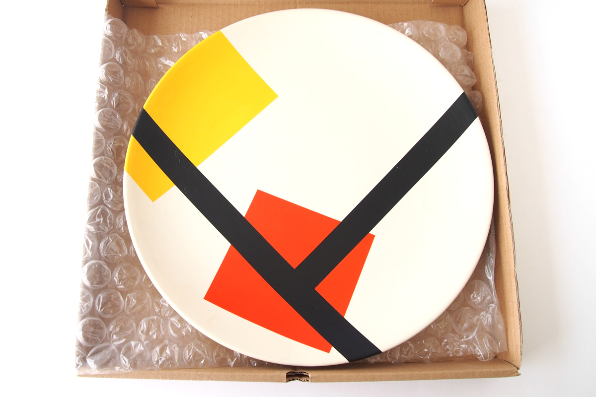 ダークルーム ロンドン|DARKROOM LONDON|オーナメントプレート|飾り皿|デザイン|アート|STOLEN FROM DE STIJL|PLATE#8イメージ05