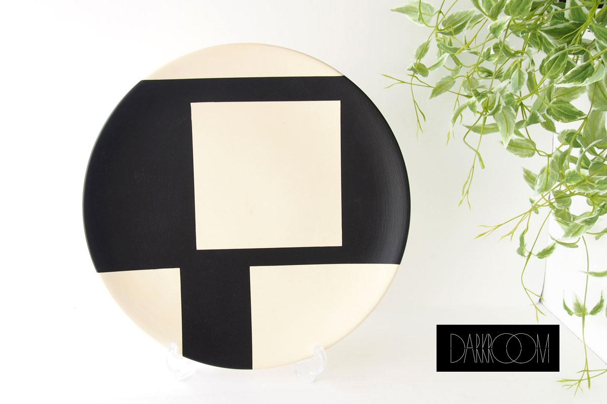 ダークルーム ロンドン DARKROOM LONDON オーナメントプレート 飾り皿 デザイン アート STOLEN FROM DE STIJL PLATE#9イメージ01