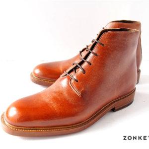 ゾンキーブーツ ZONKEY BOOT 5アイレットダービーブーツ 6 ブラウンイメージ01