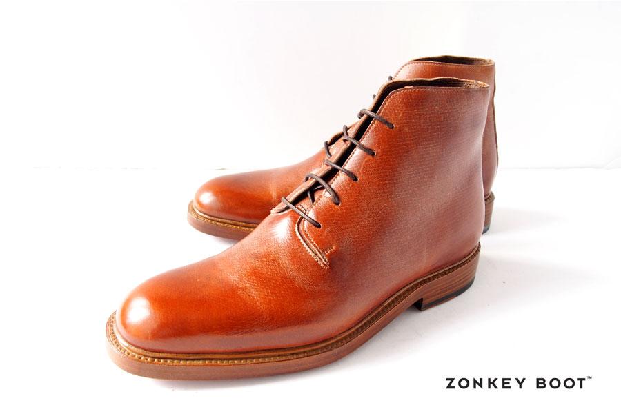 ゾンキーブーツ|ZONKEY BOOT|5アイレットダービーブーツ|6|ブラウンイメージ01