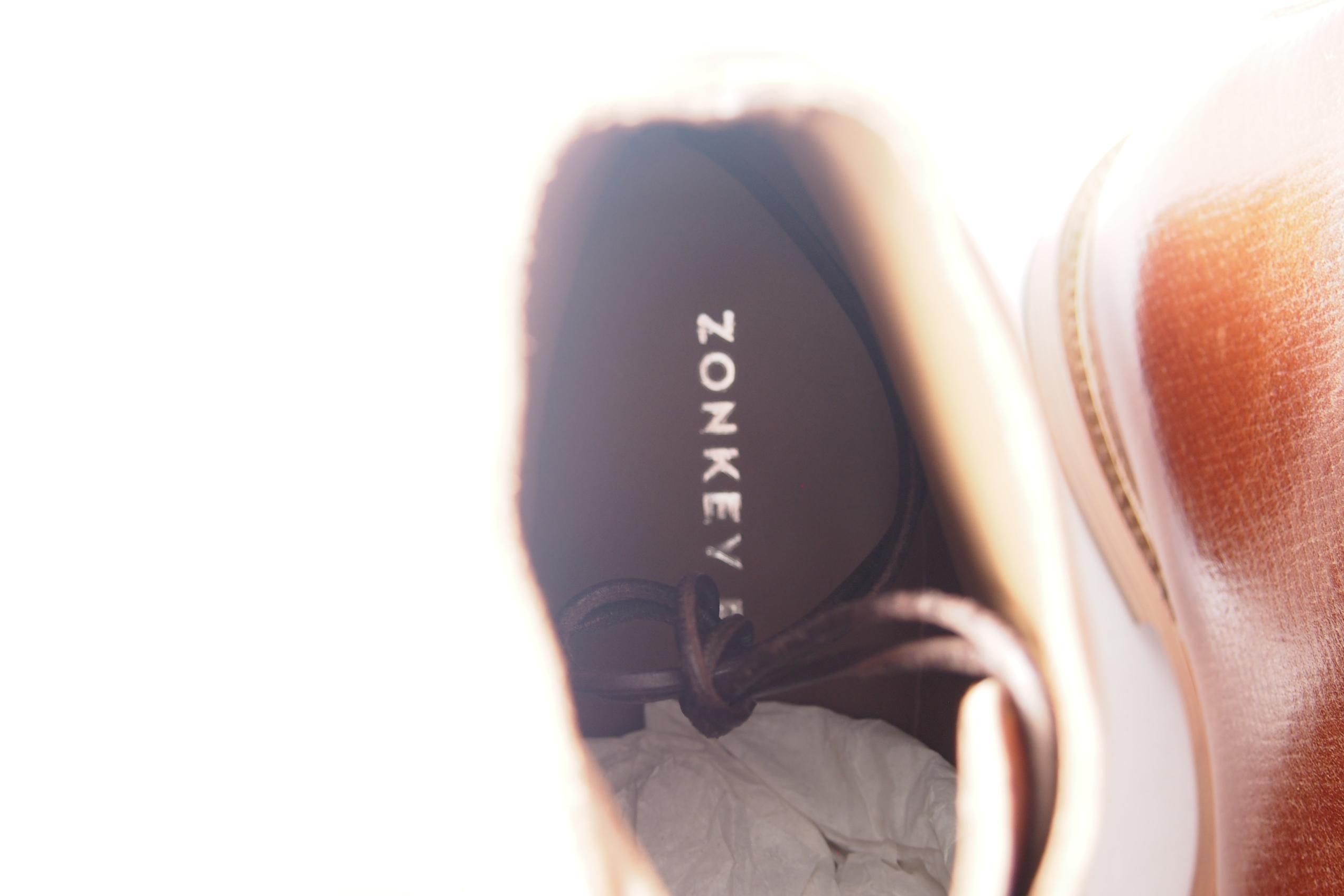 ゾンキーブーツ|ZONKEY BOOT|5アイレットダービーブーツ|6|ブラウンイメージ09