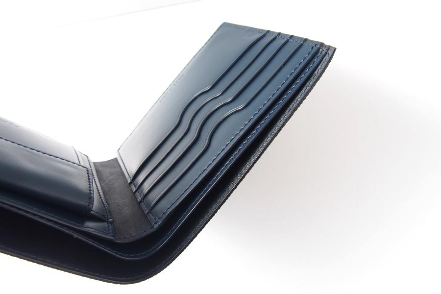 アラルディ|ARALDI 1930|キャビアレザー小銭入れ付き二つ折財布|ウォレット|NERO|ブラック|P351イメージ06