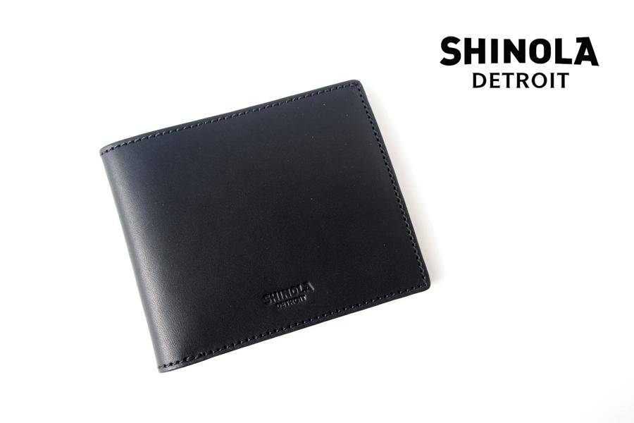 シャイノラ|shinola|レザーコインポーチ|ブラックイメージ01