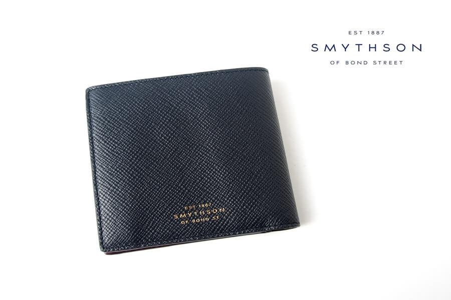 スマイソン|SMYTHSON|パナマコレクション|カードコインパース|ネイビーイメージ01