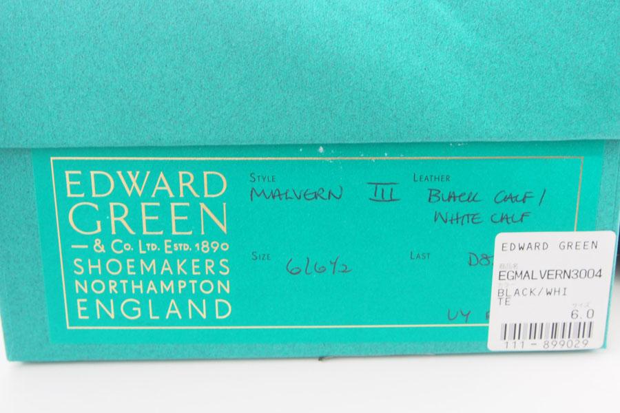 エドワードグリーン|Edward Green|フルブローグ|ウィングチップ|スペクテーターシューズ|Malvern3|マルバーン3|#82D|6.0イメージ09