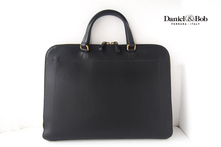 ダニエル&ボブ|Daniel&Bob|2WAYブリーフケース|ビジネスバッグ|タク クオイオ クラシック|TAKU CUOIO classico|ブラックイメージ01