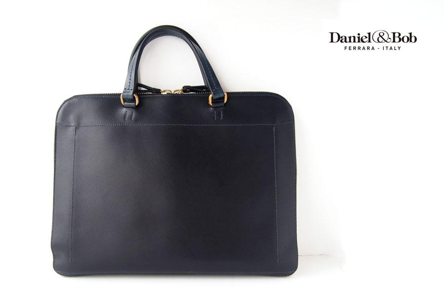 ダニエル&ボブ|Daniel&Bob|2WAYブリーフケース|ビジネスバッグ|タク クオイオ クラシック|TAKU CUOIO classico|ネイビーイメージ01
