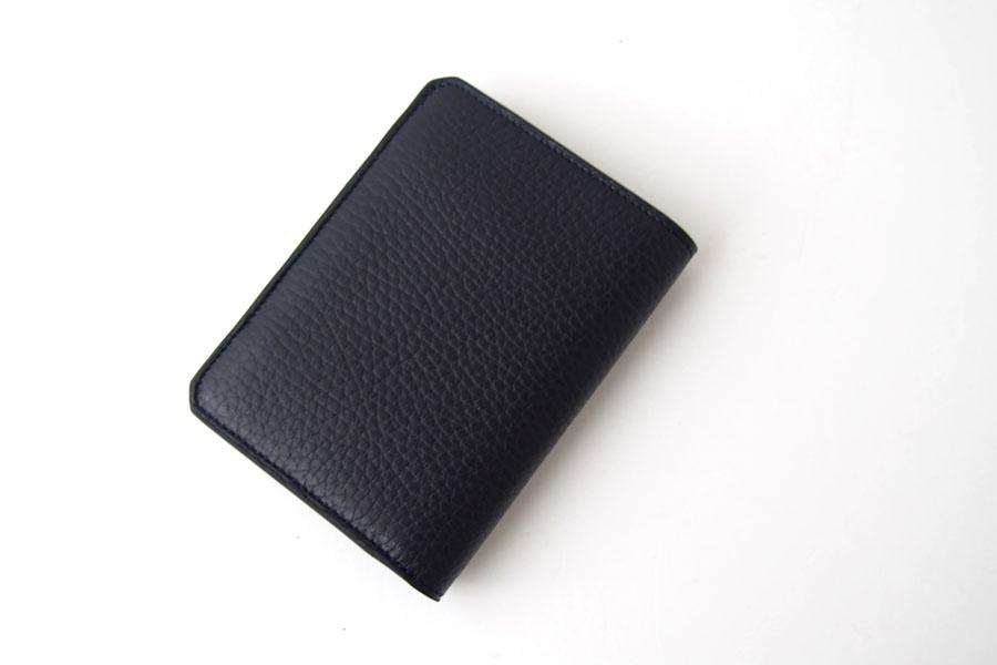 アイセア|AIZEA|コンパクトウォレット|2つ折り財布|トリヨンレザー|ネイビーイメージ02