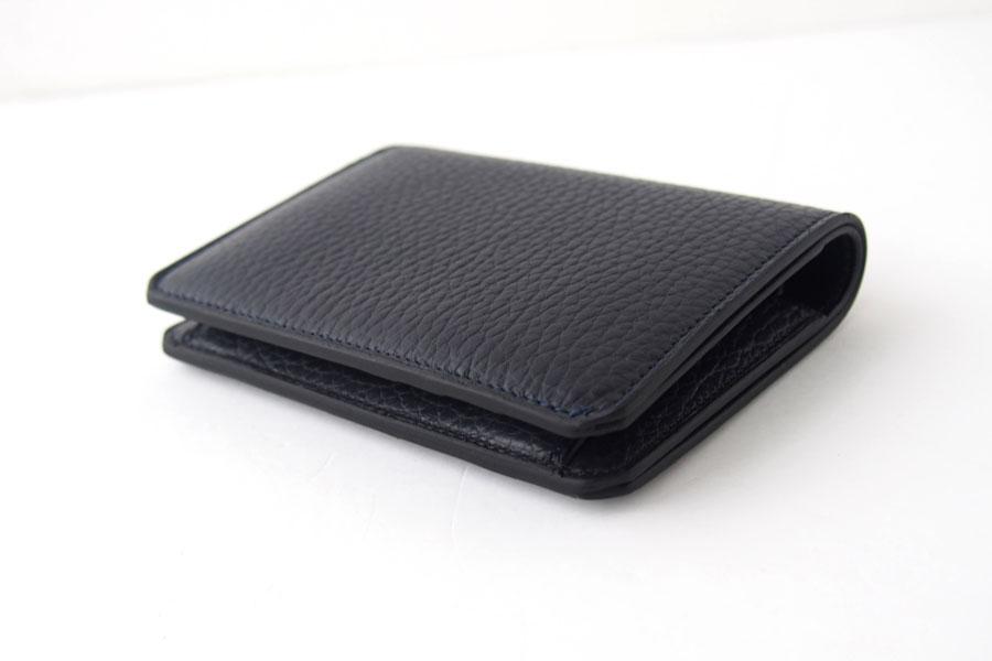 アイセア|AIZEA|コンパクトウォレット|2つ折り財布|トリヨンレザー|ネイビーイメージ03