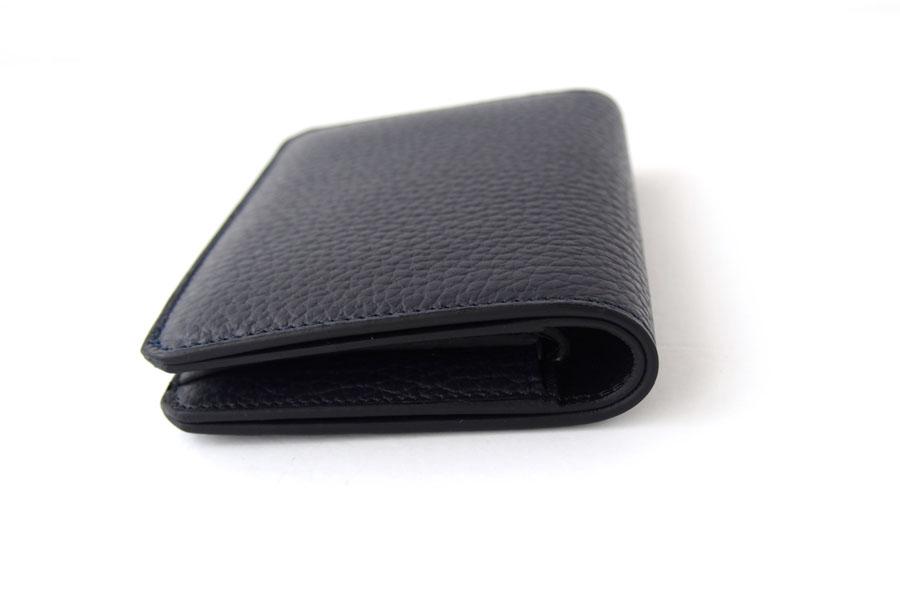 アイセア|AIZEA|コンパクトウォレット|2つ折り財布|トリヨンレザー|ネイビーイメージ04