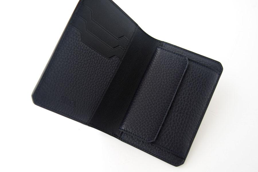アイセア|AIZEA|コンパクトウォレット|2つ折り財布|トリヨンレザー|ネイビーイメージ06