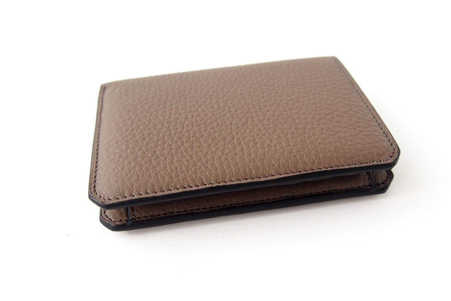 アイセア|AIZEA|コンパクトウォレット|2つ折り財布|トリヨンレザー|トープイメージ03