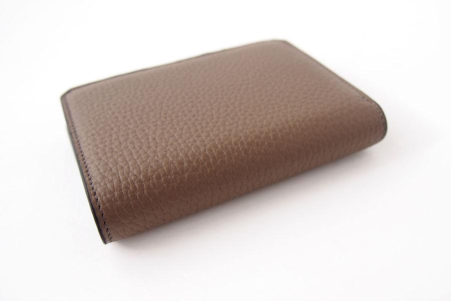 アイセア|AIZEA|コンパクトウォレット|2つ折り財布|トリヨンレザー|トープイメージ04