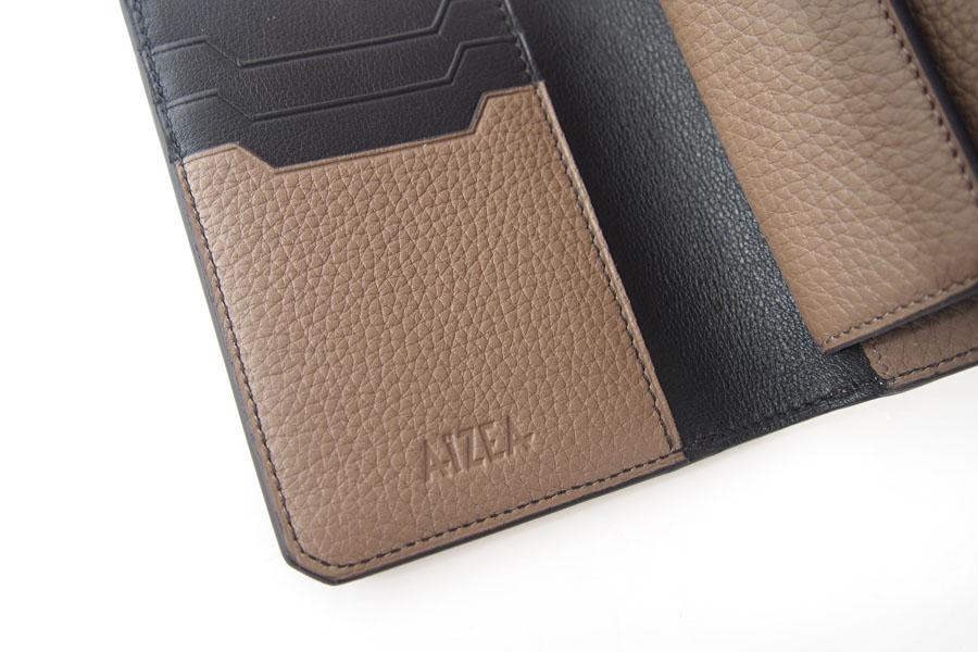 アイセア|AIZEA|コンパクトウォレット|2つ折り財布|トリヨンレザー|トープイメージ07
