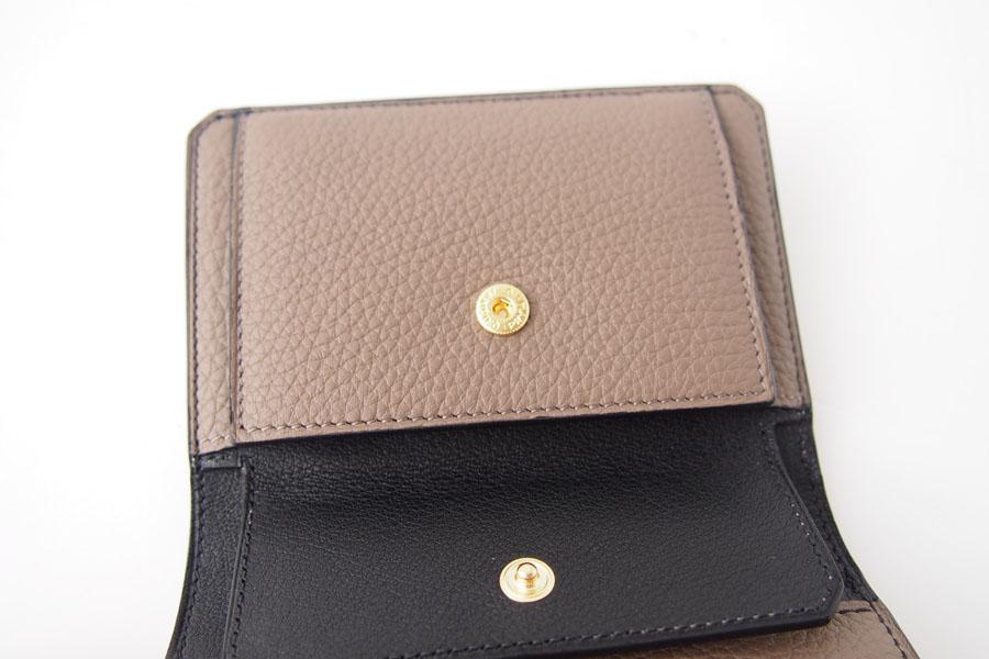 アイセア|AIZEA|コンパクトウォレット|2つ折り財布|トリヨンレザー|トープイメージ08