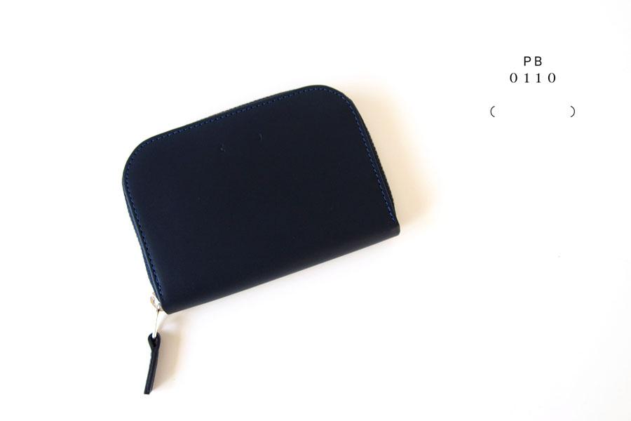ピービーゼロワンワンゼロ PB0110 ジップ財布 ジップウォレット CM1.1 WALLET Baby Blue ネイビーイメージ01