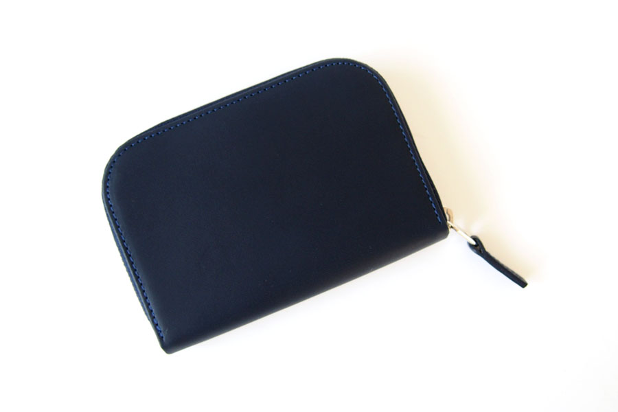 ピービーゼロワンワンゼロ PB0110 ジップ財布 ジップウォレット CM1.1 WALLET Baby Blue ネイビーイメージ02