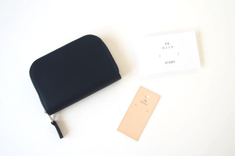 ピービーゼロワンワンゼロ PB0110 ジップ財布 ジップウォレット CM1.1 WALLET Baby Blue ネイビーイメージ08
