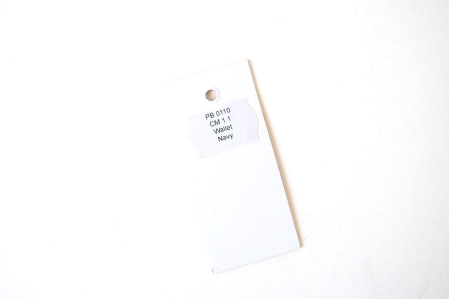 ピービーゼロワンワンゼロ PB0110 ジップ財布 ジップウォレット CM1.1 WALLET Baby Blue ネイビーイメージ09